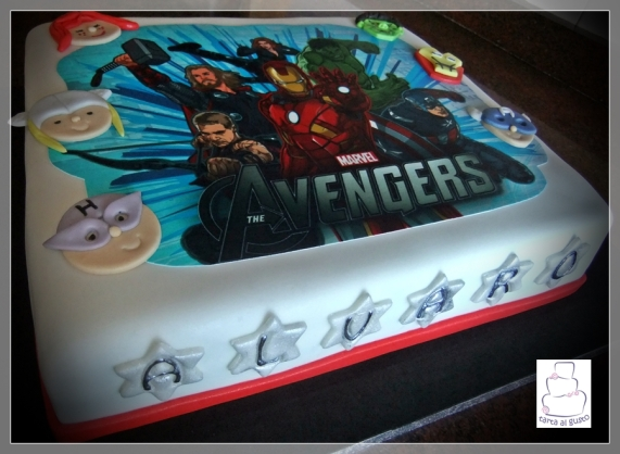 Tarta Vengadores