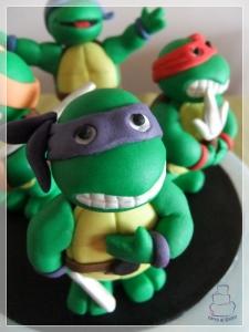 Modelado tortuga ninja